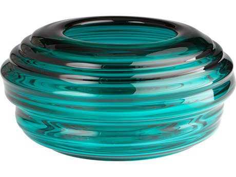 Cyan Design Adair Turquoise Large Vase