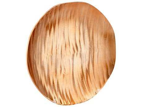 Cyan Design Heat Wave Copper Medium Tray