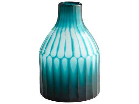 Cyan Design Contrary Green Small Vase