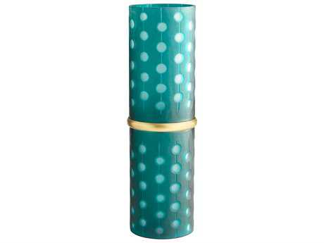 Cyan Design Cascade Parade Green Large Vase