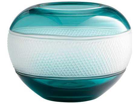 Cyan Design Calypso Blue Small Vase