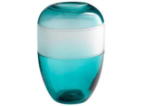 Cyan Design Calypso Blue Medium Vase