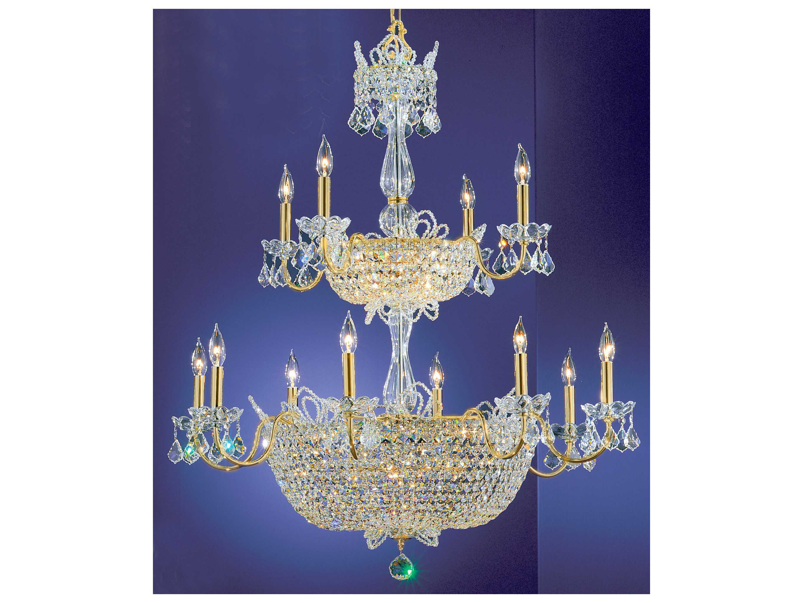classic lighting corporation crown jewels 32 light 36 wide grand