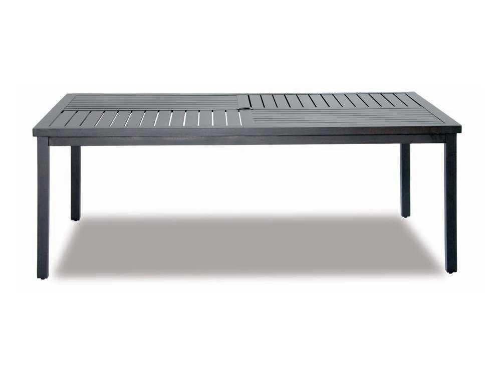 Cast Classics Kingsport Cast Aluminum 40 X 29 Rectangular Coffee Table 7284029c