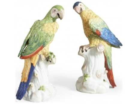 Chelsea House Meissen Macaws Sculpture (Set of Two)
