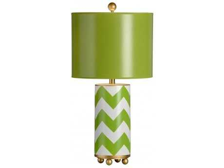 Chelsea House Wrightsville Green Gold Table Lamp