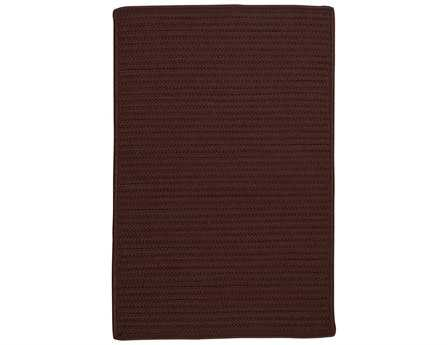 Colonial Mills Simply Home Solid Modern Brown Braided Synthetic Solid 2' x 3' Area Rug - H086R024X036S