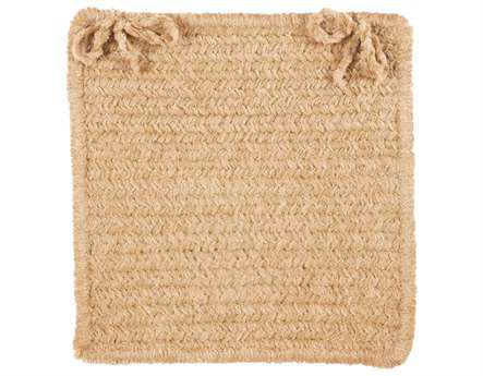 Colonial Mills Simple Chenille Buff Chair Pad