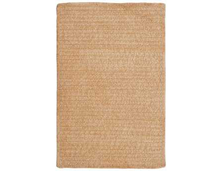 Colonial Mills Simple Chenille Modern Beige Braided Synthetic Solid 2' x 3' Area Rug - M302R024X036S