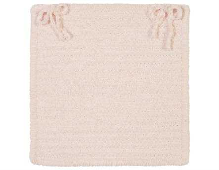 Colonial Mills Seascape Blush Pink Chair Pad