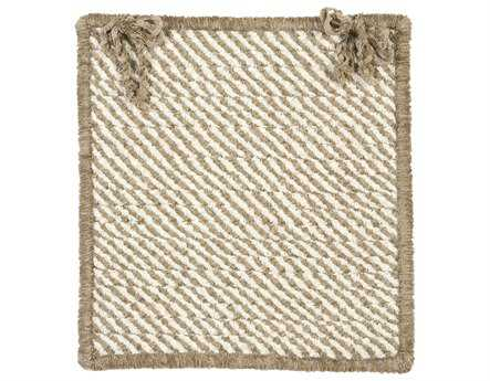 Colonial Mills Twisted Linen-stone Chair Pad (Set of 4)