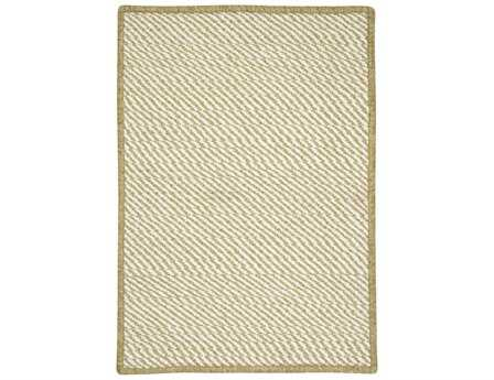 Colonial Mills Twisted Modern Green Braided Synthetic Solid 2' x 3' Area Rug - TW69R024X036S