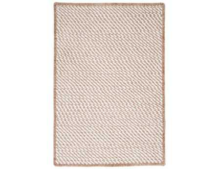 Colonial Mills Twisted Modern Beige Braided Synthetic Solid 2' x 3' Area Rug - TW89R024X036S