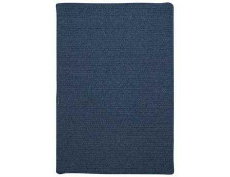 Colonial Mills Westminster Modern Blue Braided Wool Solid 2' x 3' Area Rug - WM50R024X036S