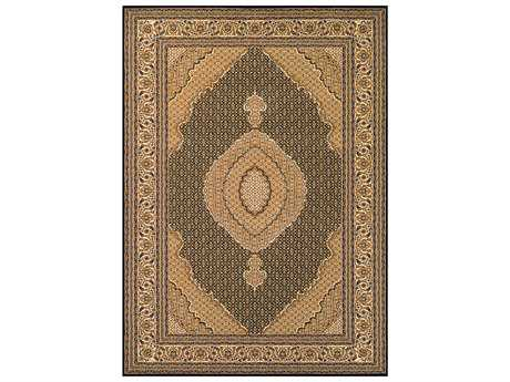 Couristan Antalya Traditional Beige Machine Made Synthetic Floral/Botanical 2' x 3'11 Area Rug - 21200101020311T