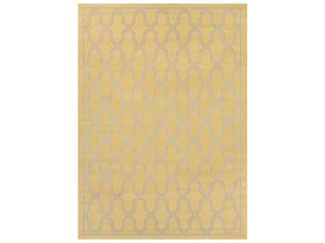 Couristan Five Seasons Modern Yellow Machine Made Synthetic Moroccan 2' x 3'7'' Area Rug - 42060728020037T
