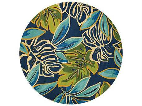 Couristan Covington Transitional Hand Made Synthetic Floral/Botanical Area Rug- 4361-0671-ROU