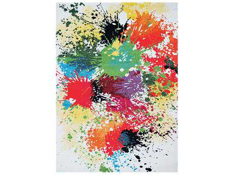 Couristan Spectrum Modern Machine Made Synthetic Graphic 2' x 3'7'' Area Rug - 50330273020037T