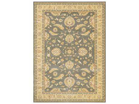 Couristan Cadence Traditional Beige Machine Made Synthetic Floral/Botanical 2' x 3'11 Area Rug - 65240490020311T