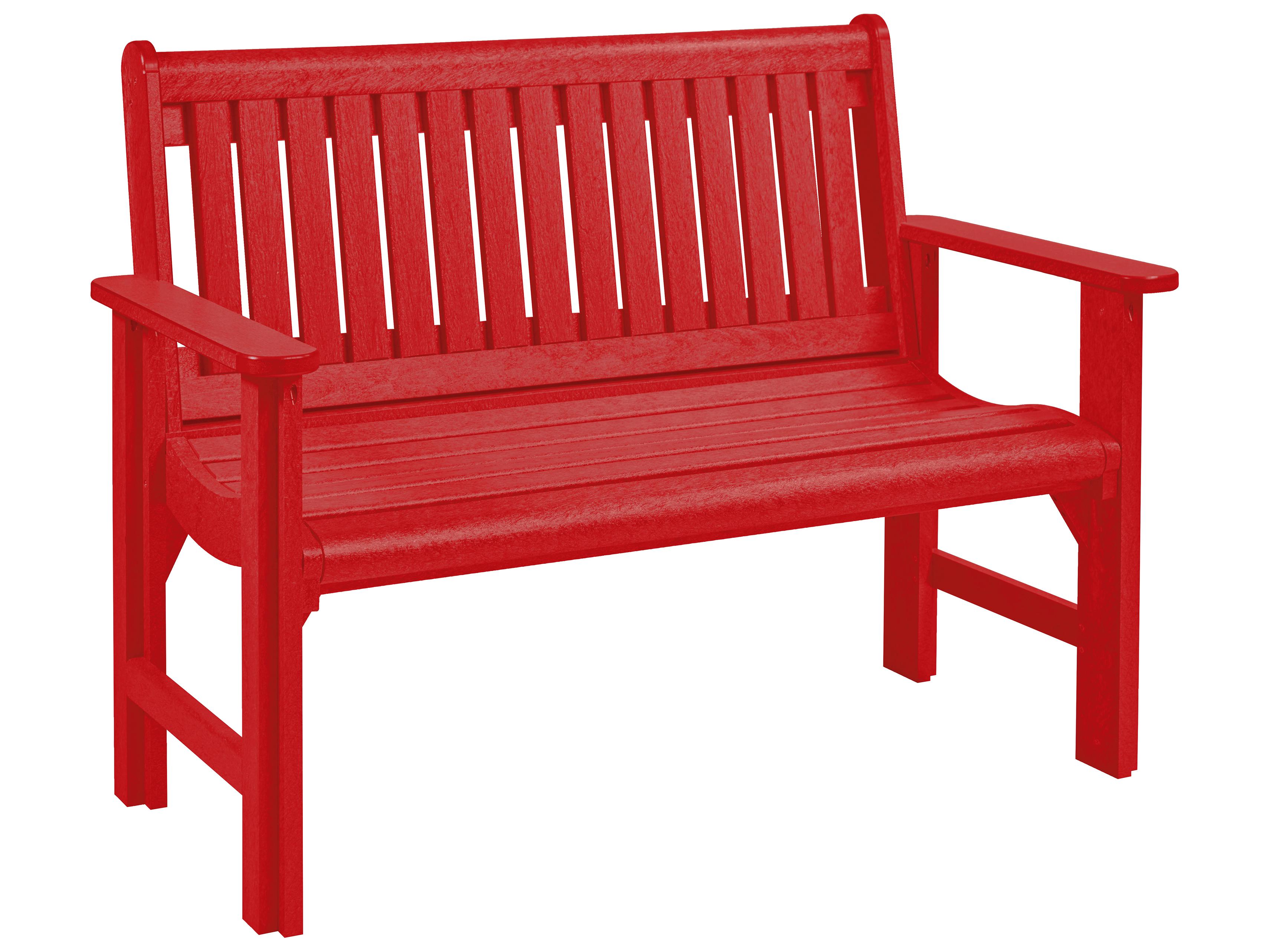 C R Plastic Generation Garden Bench B01