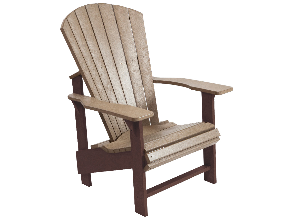 C R Plastic Generation Adirondack Upright Chair C03