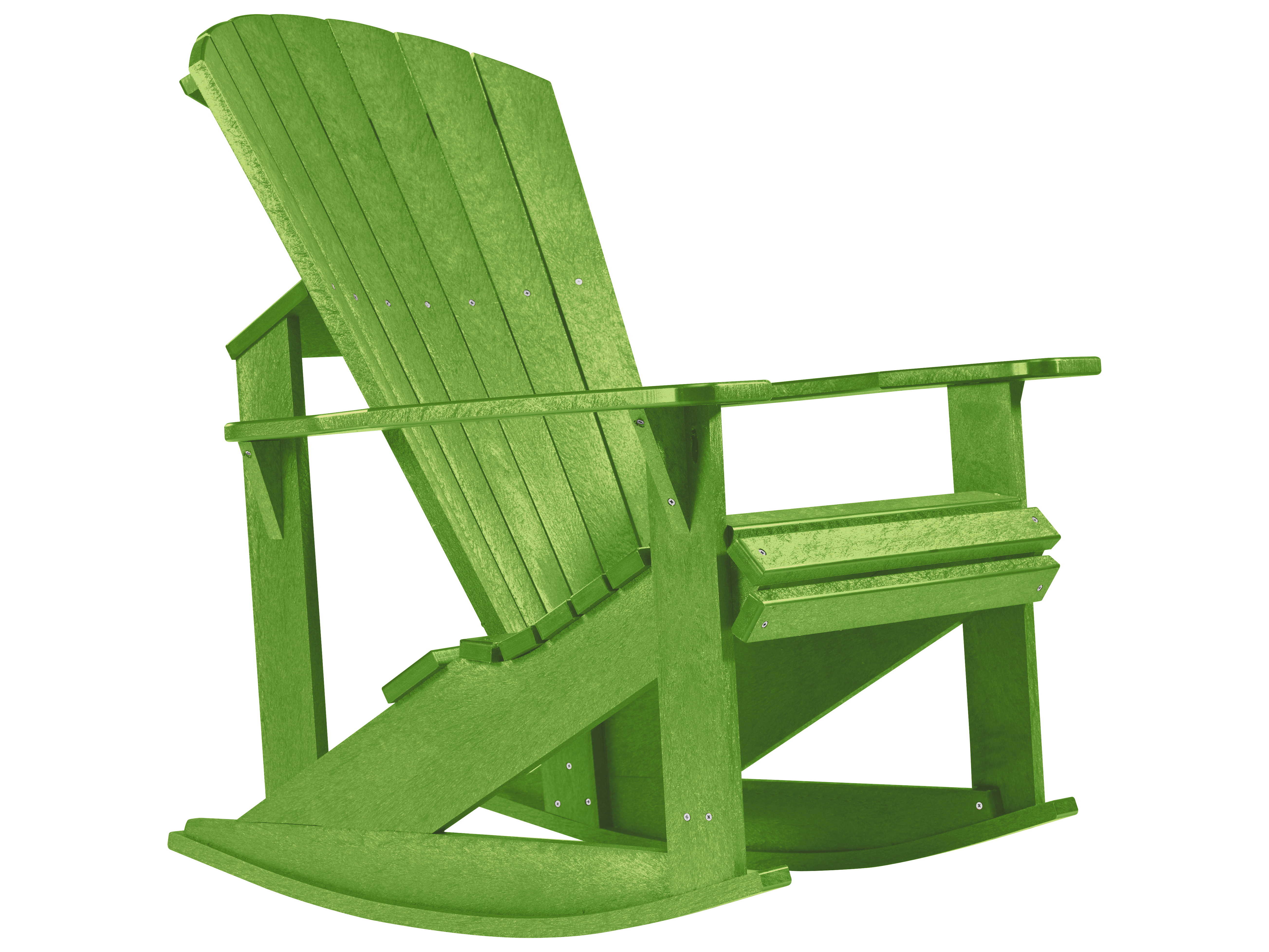 c r plastic generation adirondack rocking chair c04. Black Bedroom Furniture Sets. Home Design Ideas