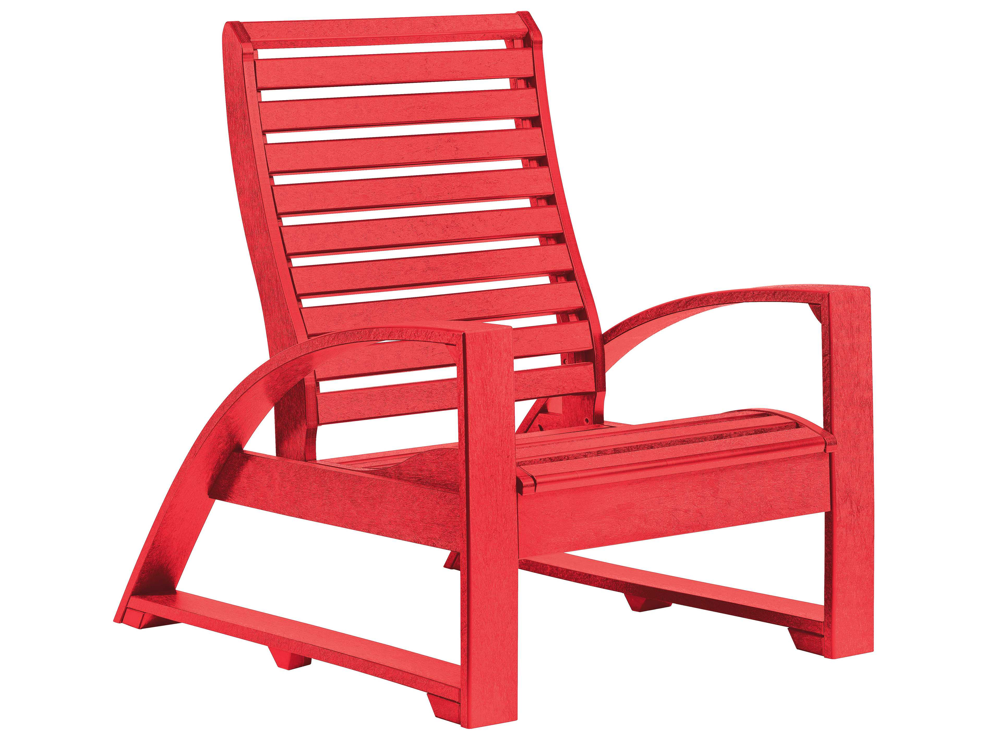 C R Plastic St Tropez Adirondack Chair
