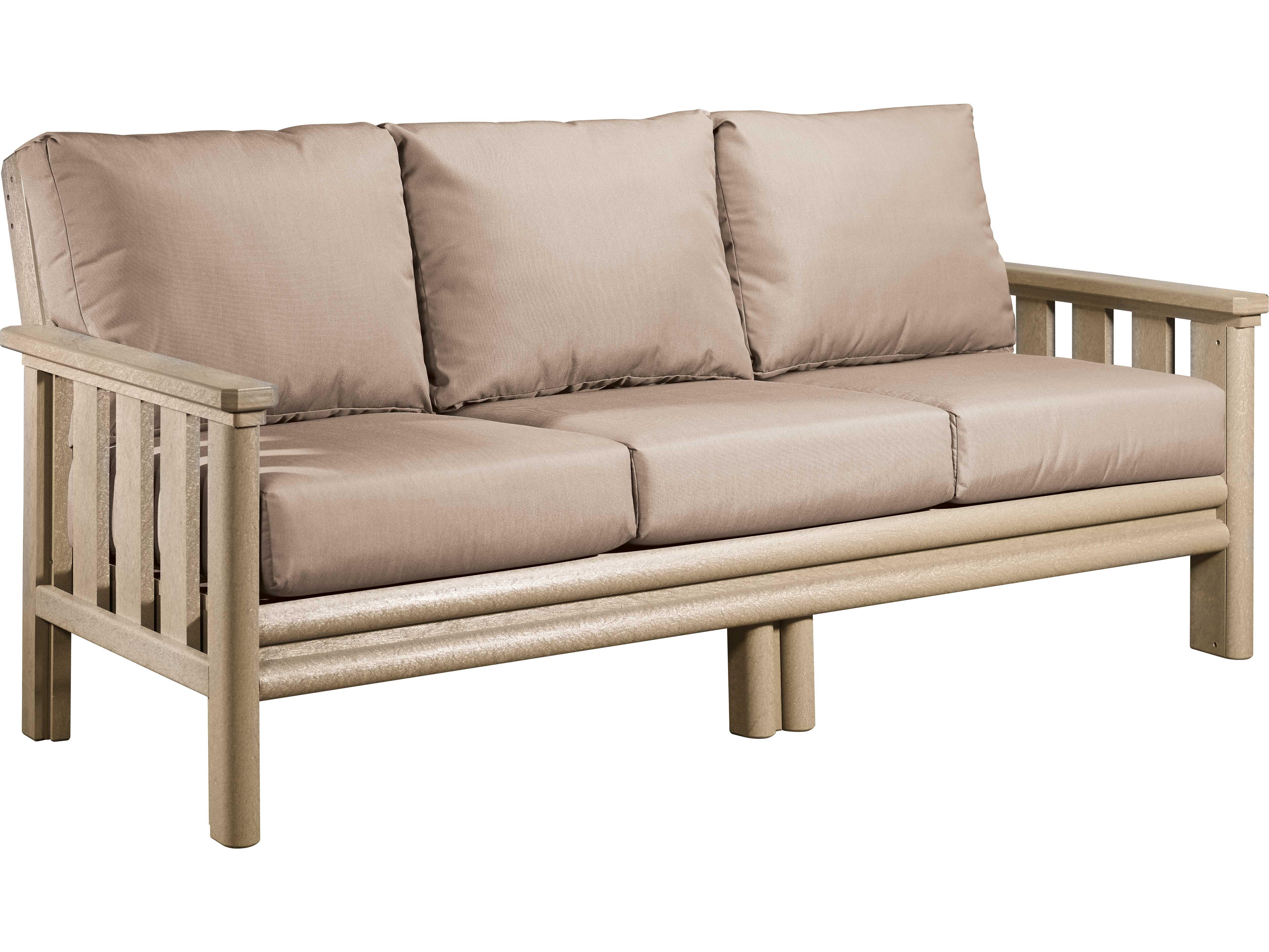 C R Plastic Stratford Recycled Plastic Sofa Ds143