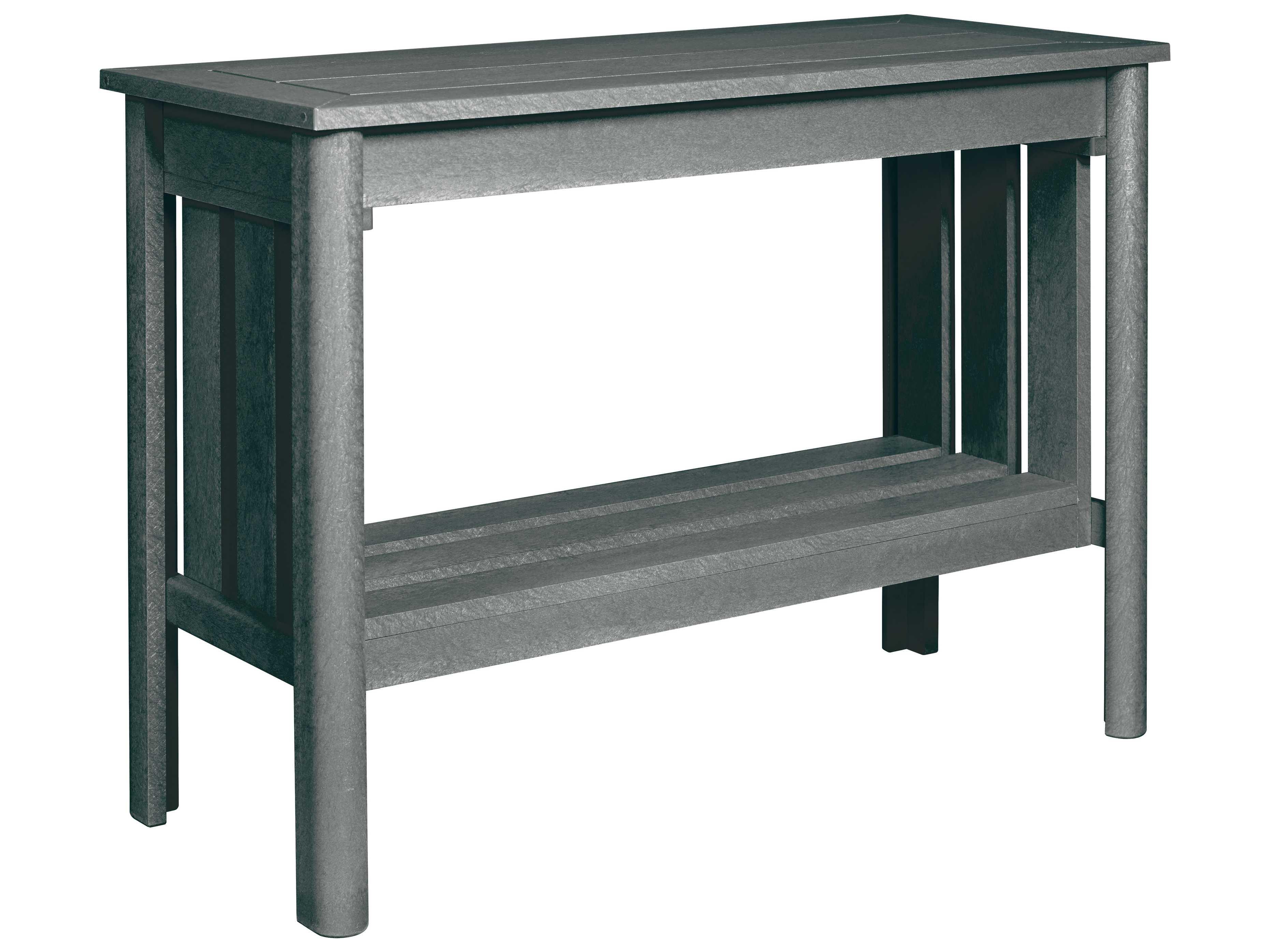 C R Plastic Stratford Recycled Plastic 44 x 19 Sofa Table