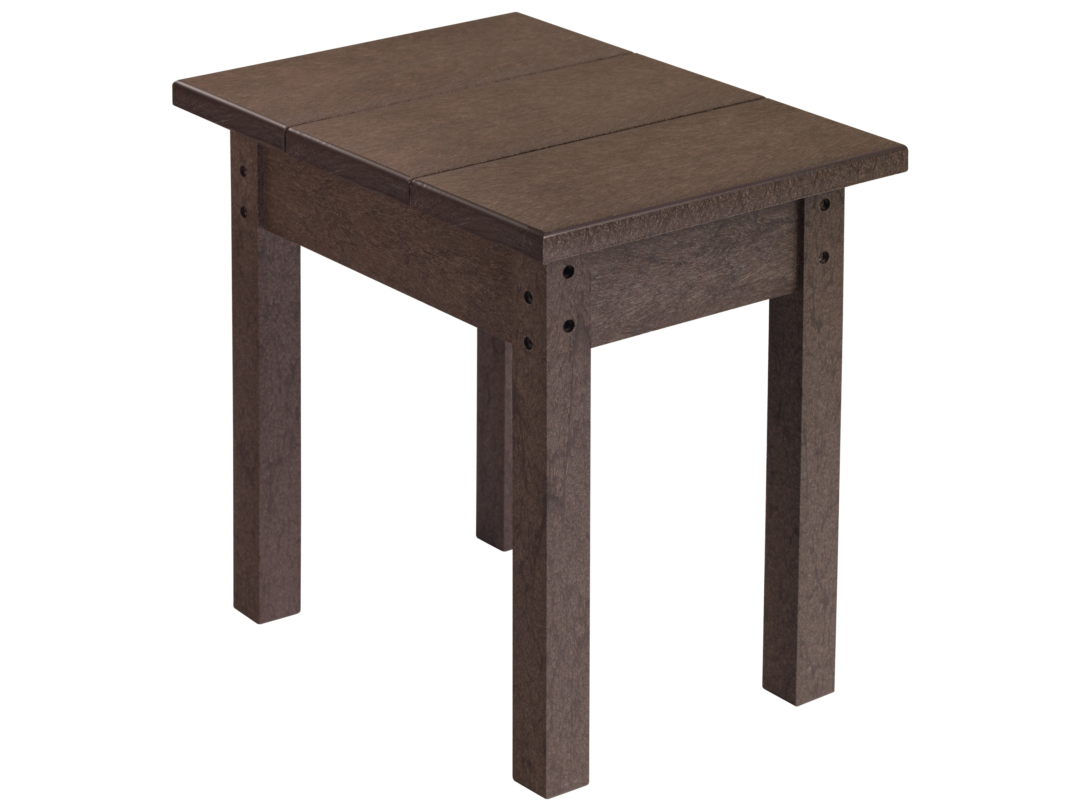 C r plastic generation side table t01 for Pvc patio table