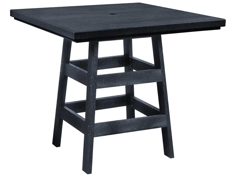 C r plastic generation 42 square pub table t13 for 99 pub table