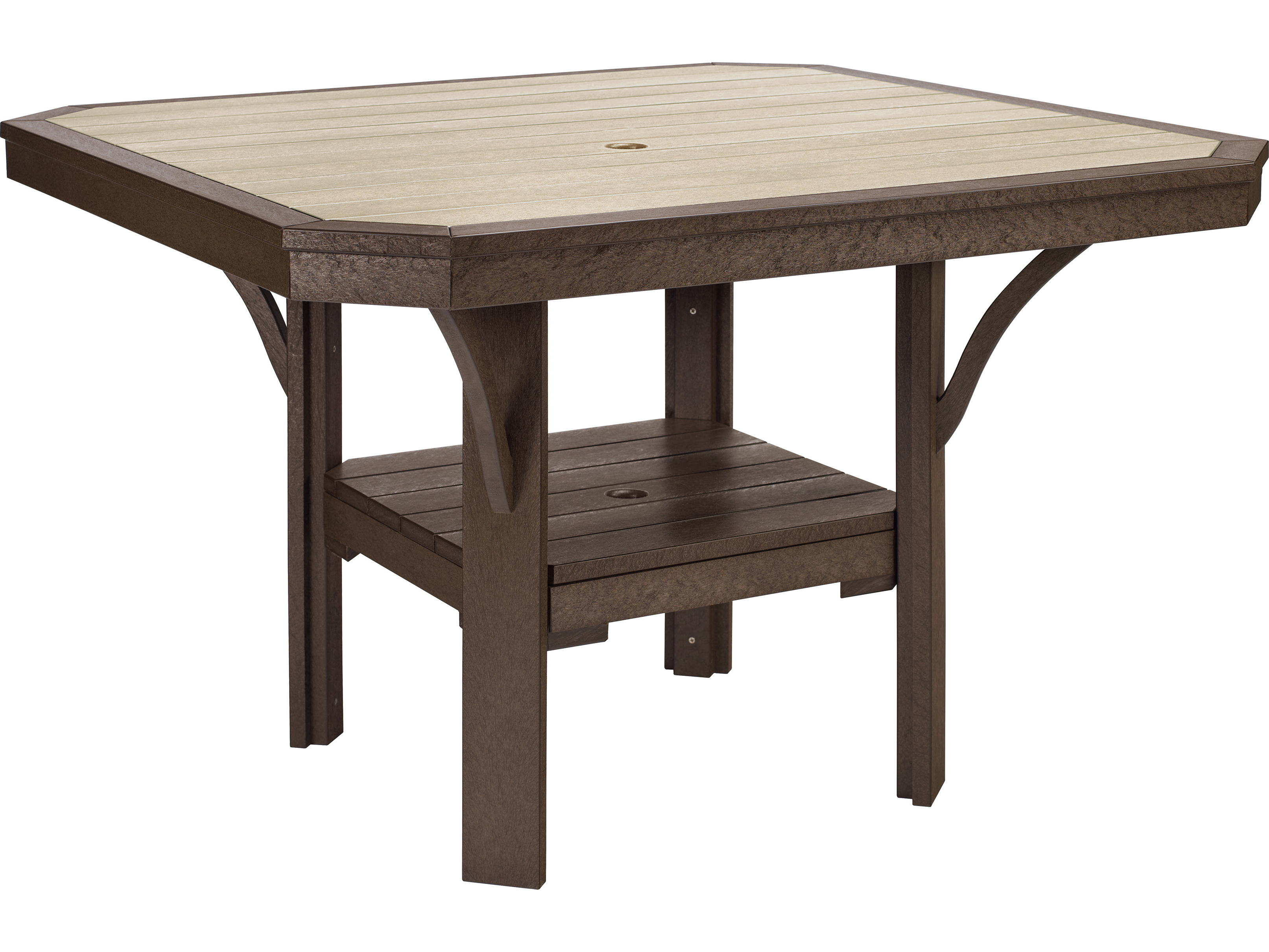c r plastic st tropez 45 square dining table t35