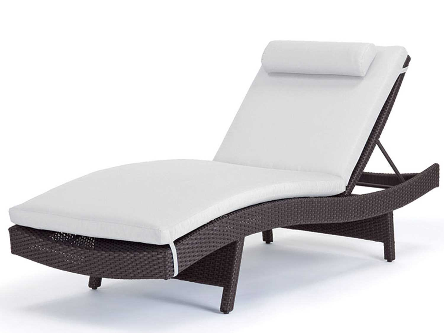 Caluco Dijon Curved Single Chaise Lounge