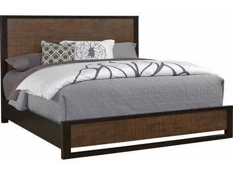 casana axel king platform panel bed axel collection by casana in stock