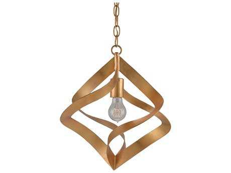 Currey & Company Penelope Contemporary Gold Pendant Light