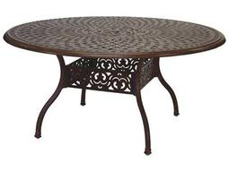 Darlee Outdoor Living Quick Ship Series 60 Cast Aluminum 59 Round Dining Table