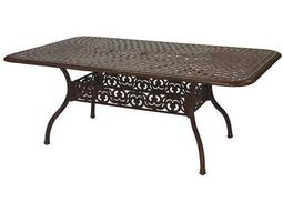Darlee Outdoor Living Quick Ship Series 60 Cast Aluminum 72 x 42 Rectangular Dining Table