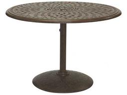 Darlee Outdoor Living Quick Ship Series 60 Cast Aluminum 42 Round Dining Table