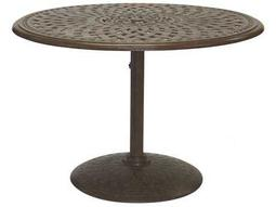 Darlee Outdoor Living Quick Ship Series 60 Cast Aluminum 42 Round Tea Table