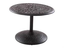Darlee Outdoor Living Quick Ship Series 60 Cast-Aluminum 30 Round Bistro Table