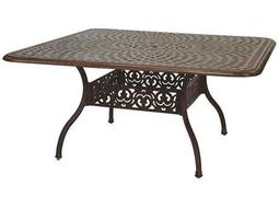 Darlee Outdoor Living Quick Ship Series 60 Cast Aluminum 60 Square Dining Table