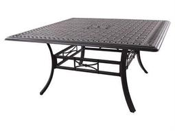 Darlee Outdoor Living Series 88 Cast Aluminum Antique Bronze 60 Square Counter  Height Dining Table FREE SHIPPING $846.45