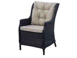 Darlee Outdoor Living Quick Ship Valencia Dining Chair / Seat & Back Cushion