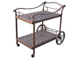 Darlee Outdoor Living Standard Accessories Cast Aluminum Antique Bronze  Serving Cart List Price 538.65 FREE SHIPPING $323.19