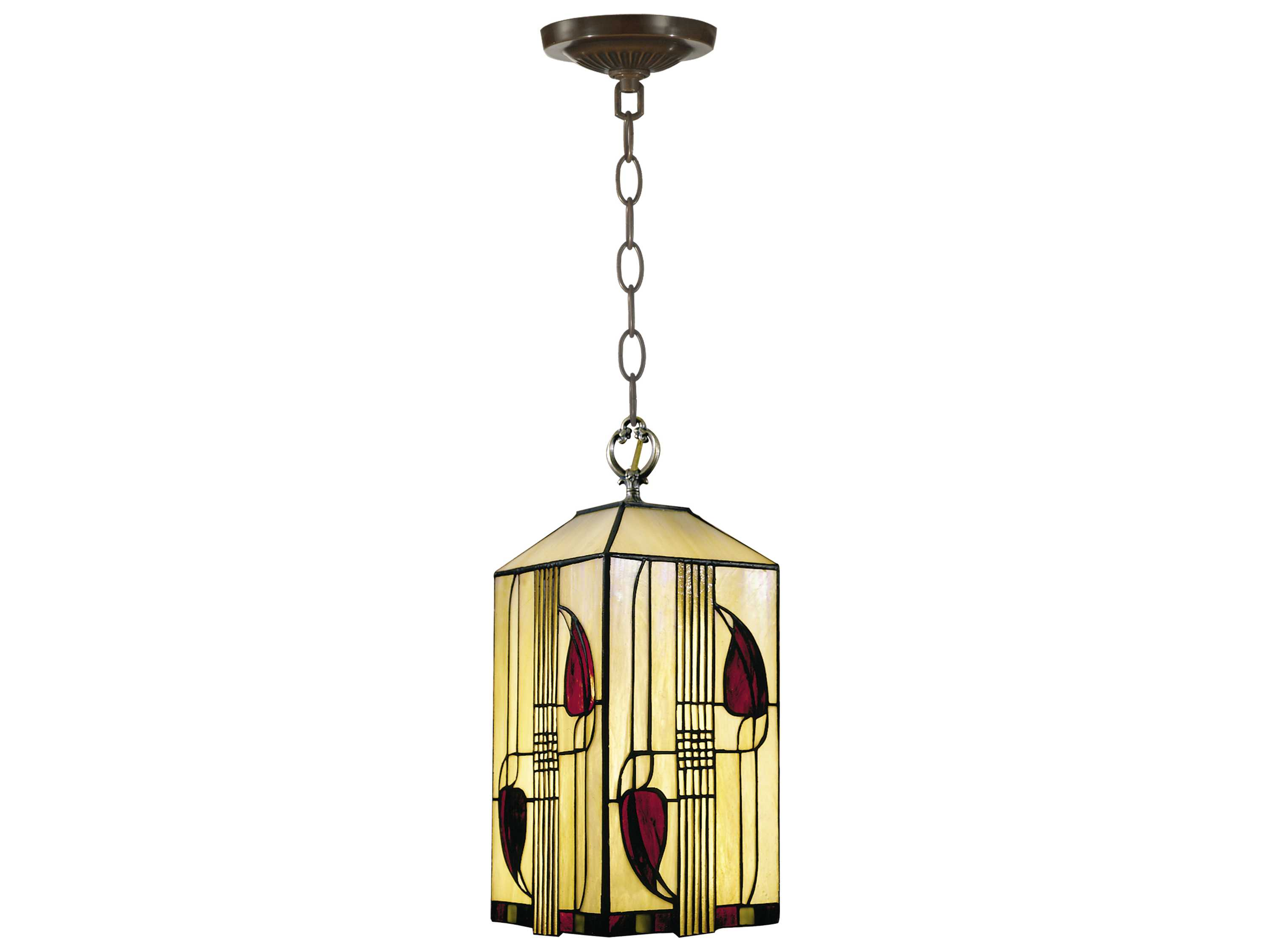 Foyer Lighting Tiffany Style : Dale tiffany henderson mackintosh foyer pendant lta