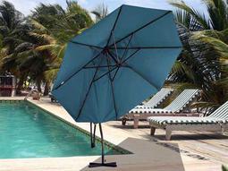 Dayva Cantilever 9' Octagon Aluminum Umbrella