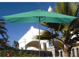 Dayva Patricia 11' x 8' Aluminum Crank Umbrella