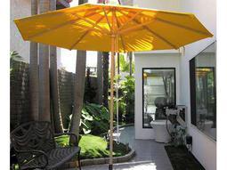 Dayva Del Rey Aluminum 9' Octagon Pulley Umbrella in Sand Finish