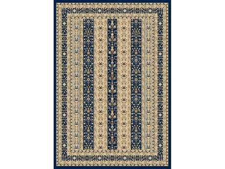Dynamic Nain Traditional Blue Machine Made Synthetic Floral/Botanical 2' x 3'5'' Area Rug - NA242680531
