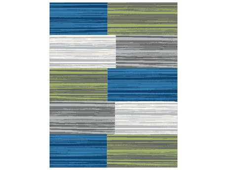 Dynamic Infinity Modern Gray Machine Made Synthetic Abstract 2' x 3'11'' Area Rug - IN24350249999